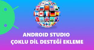 Android Studio Çoklu Dil Desteği Ekleme