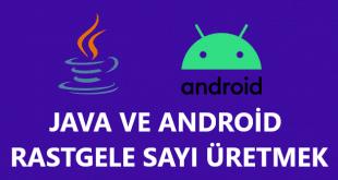 Java Android İki Değer Arasında Random Sayı Oluşturmak