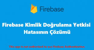 This app is not authorized to use Firebase Authentication
